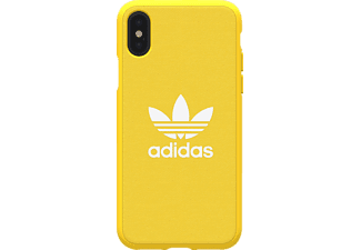 ADIDAS ORIGINAL Moulded Case Handyhülle, Apple iPhone X, Gelb