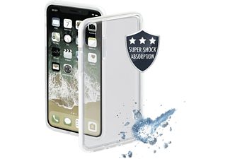 HAMA Protector Handyhülle, Apple iPhone X/XS, Weiß