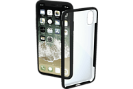 HAMA Frame , Backcover, Apple, iPhone XR, Polycarbonat/Thermoplastisches Polyurethan, Schwarz/Transparent