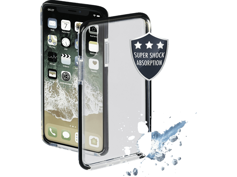 HAMA  Protector Backcover Apple iPhone XR Thermoplastisches Polyurethan Schwarz | 04047443398871