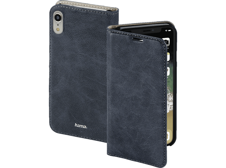 HAMA  Guard Case Bookcover Apple iPhone XR Kunstleder Blau | 04047443395566
