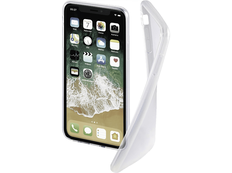 HAMA  Crystal Clear Backcover Apple iPhone Xs Max Thermoplastisches Polyurethan (TPU) Transparent | 04047443395283