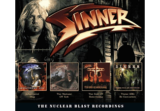 Sinner - The Nuclear Blast Recordings (4CD Box) - (CD)