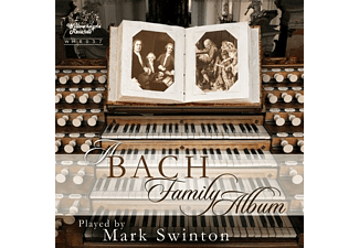 Mark Swinton - A Bach Family Album - (CD)