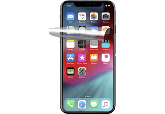 CELLULAR LINE Anti Spiegel, Displayschutzfolie, Transparent, passend für Apple iPhone XS Plus