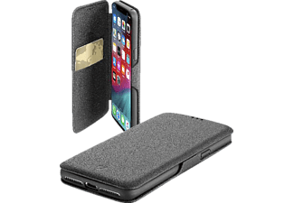 CELLULAR LINE BOOK CLUTCH Handyhülle, Apple iPhone XS Max, Schwarz