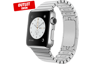 APPLE Smart Watch MJ3E2TU/A 38mm Paslanmaz Çelik Kasa ve Baklalı Model Outlet