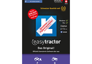PC/Mac - easytractor 2018/19 (Kat. F/G) /Multilingue