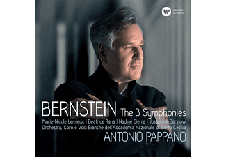 Antonio Pappano - Bernstein: The 3 Symphonies CD