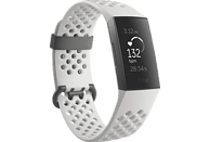 FITBIT Charge 3 SE, Fitnesstracker, S: 140 mm - 180 mm, L: 180mm - 220 mm, Graphit/Weiß