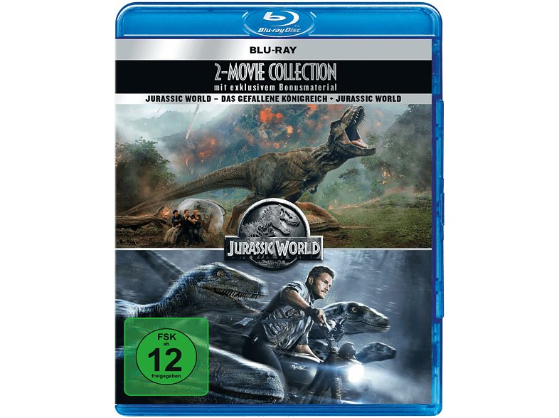 Jurassic World-2 Movie Collection [Blu-ray + DVD]