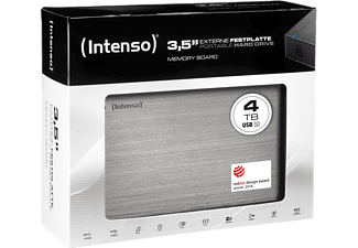 INTENSO HDD USB 3.0/ 3.5/ 4TB Black