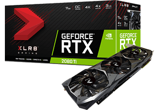 PNY GeForce® RTX 2080 Ti XLR8 Gaming Overclocked (VCG2080T11TFMPB-O)