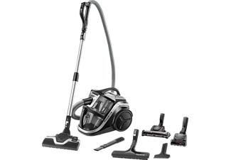 ROWENTA RO8396 Silence Force Multi-Cyclonic Animal Care, Staubsauger Ohne Beutel, Silber