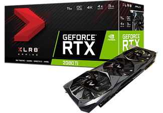 PNY GeForce RTX 2080 Ti XLR8 Gaming OC Triple Fan 11GB
