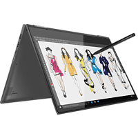 LENOVO Yoga 730, Convertible mit 15.6 Zoll Display, Core™ i7 Prozessor, 16 GB RAM, 512 GB SSD, GeForce® GTX 1050, Iron Grey