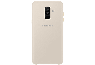 SAMSUNG Cover Dual Layer Galaxy A6 Plus Doré (EF-PA605CFEGWW)