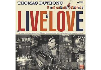 Thomas Dutronc - Live is Love CD