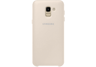 SAMSUNG Cover Double Protection Galaxy J6 Doré (EF-PJ600CFEGWW)