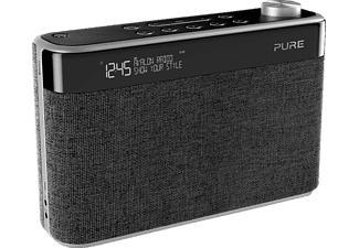 PURE PURE Avalon N5 Charcoal, Radio, Schwarz