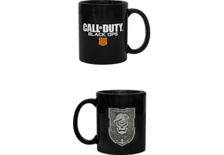 NUMSKULL Call of Duty Black Ops 4 Mug mit Metal Logo Tasse, Schwarz