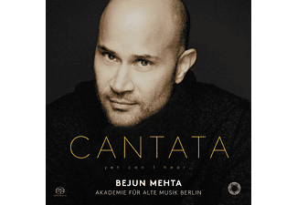 Mehta Bejun  & Akademie fur Alte Musik Berlin - Cantata: Yet I Can Hear CD