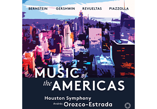 Andres Orozco & Houston Symphony Orchestra - Music of the Americas CD