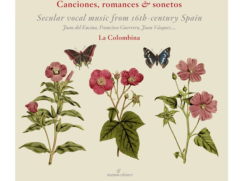 La Colombina - Canciones,Romances & Sonetos [CD]
