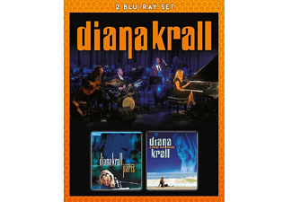 Diana Krall - Live In Paris & Live In Rio (Bluray) - (Blu-ray)