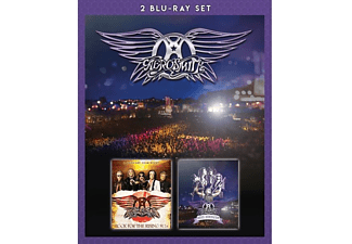Aerosmith - Rock For The Rising Sun+Rocks Donington (2br) - (Blu-ray)