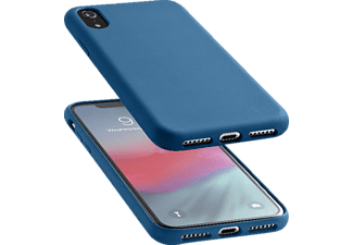 CELLULAR LINE SENSATION Handyhülle, Blau, passend für Apple iPhone 9