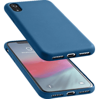 CELLULAR LINE  SENSATION , Backcover, Apple, iPhone X, Silikon, Blau