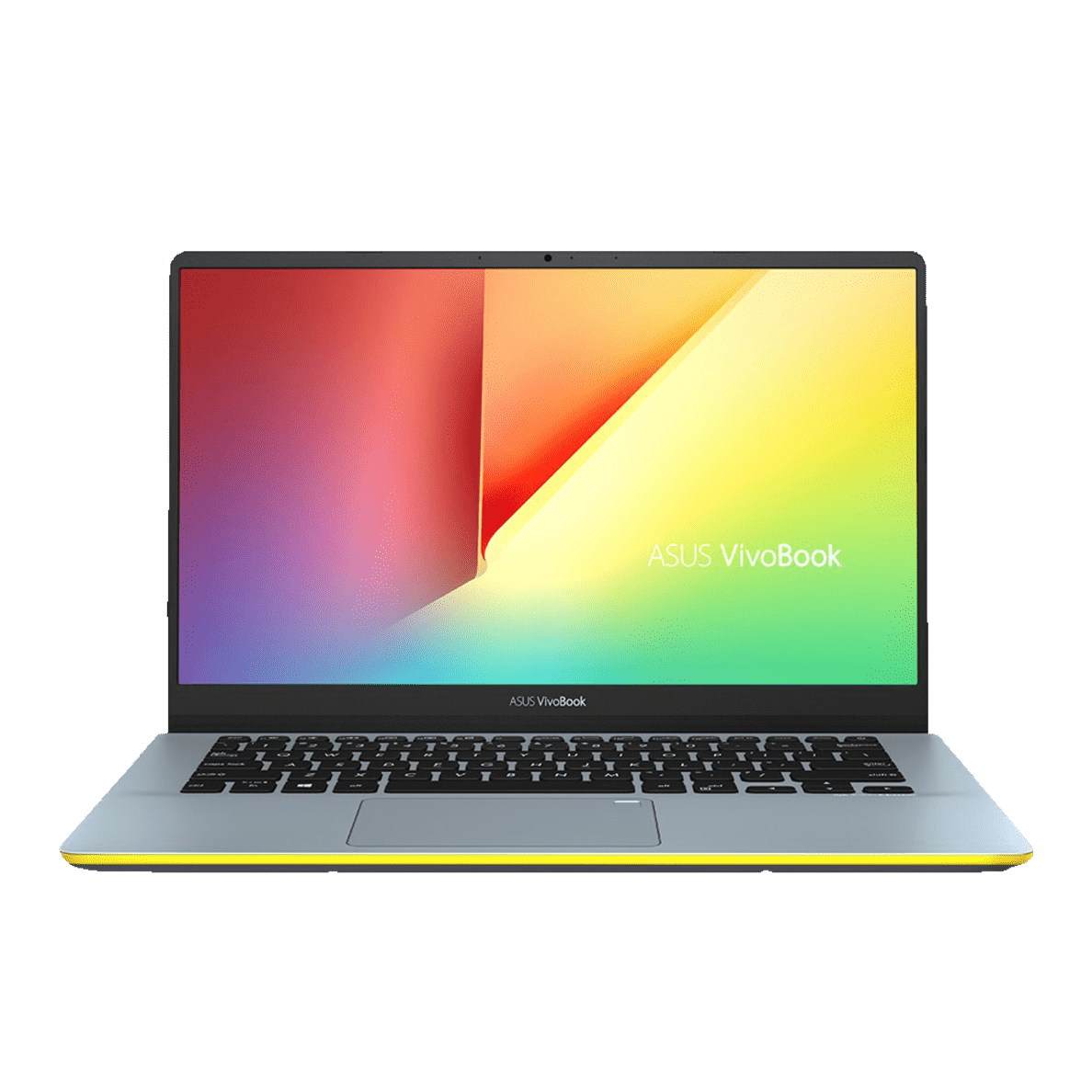 ASUS  VivoBook S14 (S430UF-EB016T) Notebook mit Core™ i5, 8 GB RAM, 256 GB & GeForce® MX130 in Silver Blue-Yellow | 04718017109581