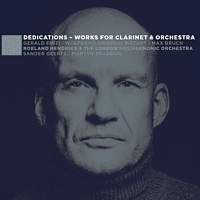 Roeland | The London Philharmonic Orches Hendrikx - Dedications-Works For Clarinet & Orchestra [CD]
