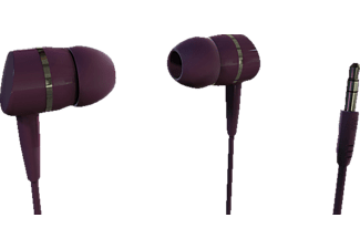 VIVANCO VIVANCO Solidsound Stereo Earphones, berry, In-ear Kopfhörer, Berry