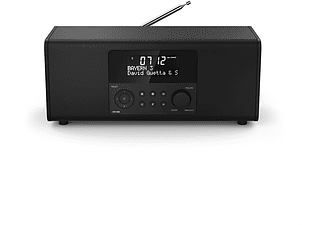 hama digitalradio dr1400 fm dab dab schwarz mediamarkt. Black Bedroom Furniture Sets. Home Design Ideas