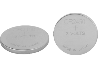 GP BATTERIES Pile CR2450 Lithium Cell 2 pièces (CR2450-2U2)