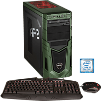 HYRICAN MILITARY GAMING 6048, Gaming PC mit Core™ i7 Prozessor, 16 GB RAM, 480 GB SSD, 2 TB HDD, GeForce® GTX 1080, 8 GB