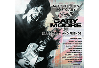 Bob Daisley And Friends - MOORE BLUES FOR GARY-A TRIBUTE TO GARY MOORE - (CD)