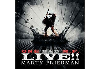 Marty Friedman - One Bad M.F.Live!! - (Vinyl)