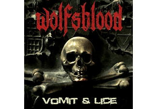 Wolfsblood (sweden) - VOMIT & LICE (DIGIPAK) - (CD)