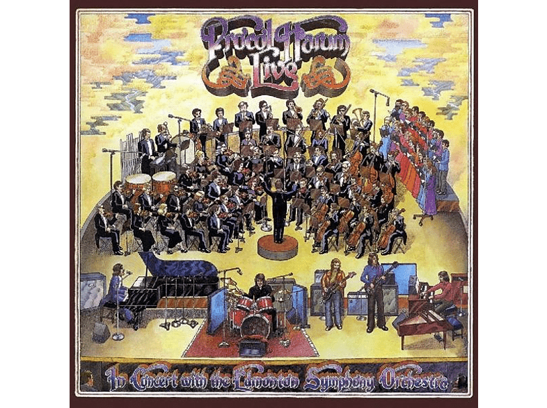 Procol Harum - Live-In Concert With Edmonton Symphony Orchestra [CD]