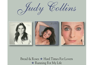 Judy Collins - BREAD & ROSES/HARD TIMES/RUNNING FOR MY LIFE - (CD)