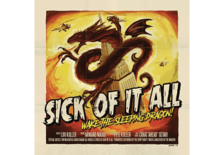 Sick Of It All - Wake The Sleeping Dragon! - (LP + Bonus-CD)