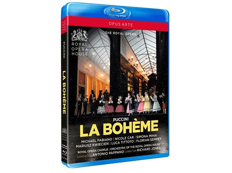 Royal Opera House & Antonio Pappano - La Bohème [Blu-ray]