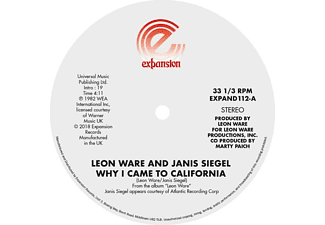 Leon Ware - Why I Came To California/Can I Touch You There - (Vinyl)