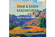 Natalya Mnatsakanyan Ruben Koseyman - Khachaturian:Music For Violin And Piano [CD]