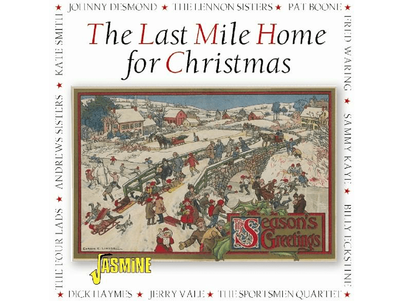 VARIOUS - Last Mile Home For Christmas [CD]