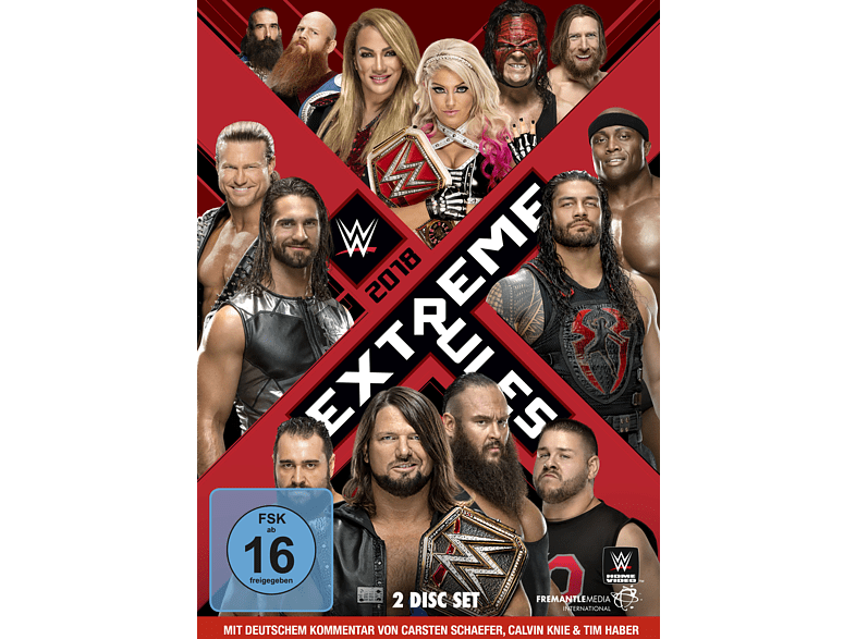 WWE - Extreme Rules 2018 [DVD]