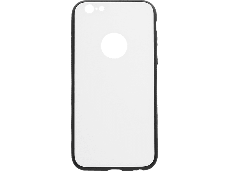 V-DESIGN VGL 012 , Backcover, Apple, iPhone 6/6S, Glas, Weiss